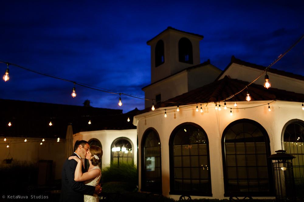 Perona Farms Wedding golden hour photo