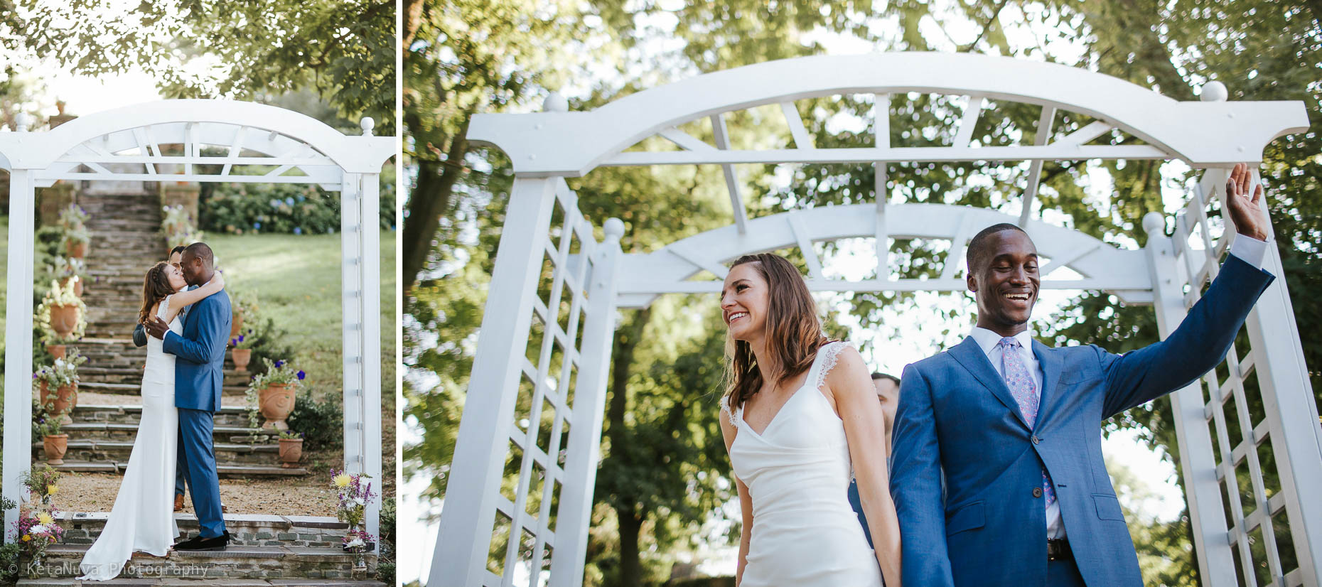 Sunken Garden - Lauxmont Farms Wedding | Aubrey & Barrett Lauxmont Farms Wedding Sunken Garden 012
