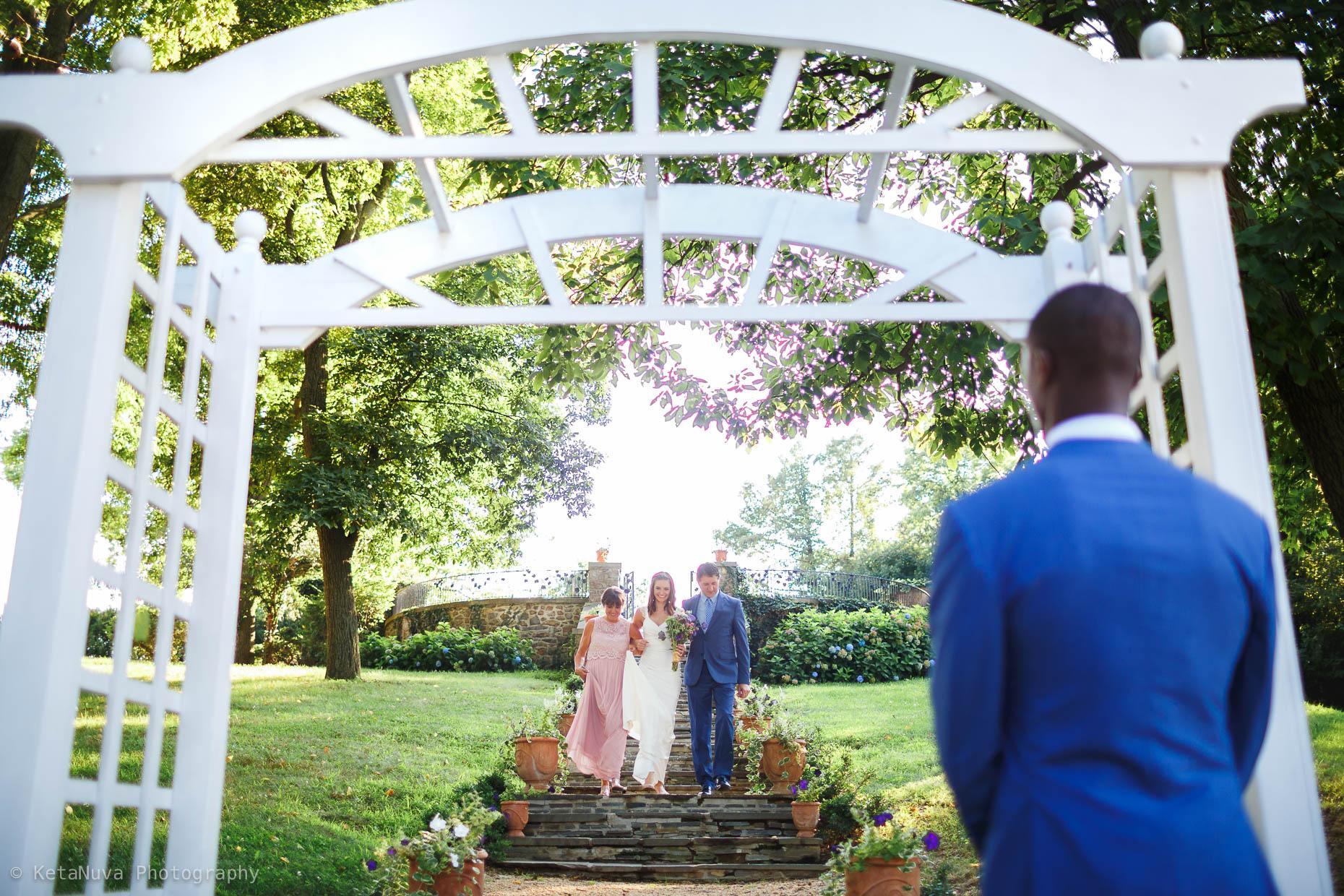 Sunken Garden - Lauxmont Farms Wedding | Aubrey & Barrett Lauxmont Farms Wedding Sunken Garden33